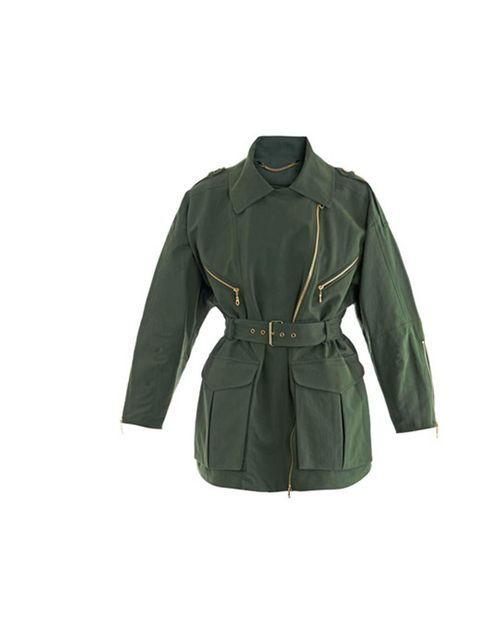 """<p>Twill trench jacket £578 Kenzo at <a href=""""http://www.matchesfashion.com/product/143110"""">Matches</a></p>"""