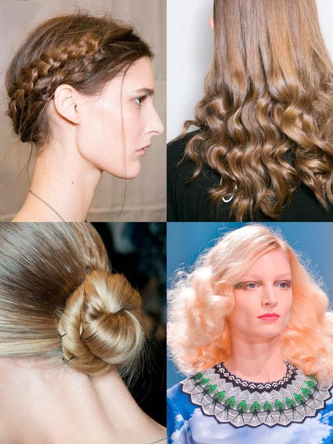 <p>From waves and braids to twists and buns Paris Fashion Week dealt us a veritable feast of hairstyling ideas.</p><p>We just don't know which one to try first...</p><p><em>See the best hair looks from <a href=&