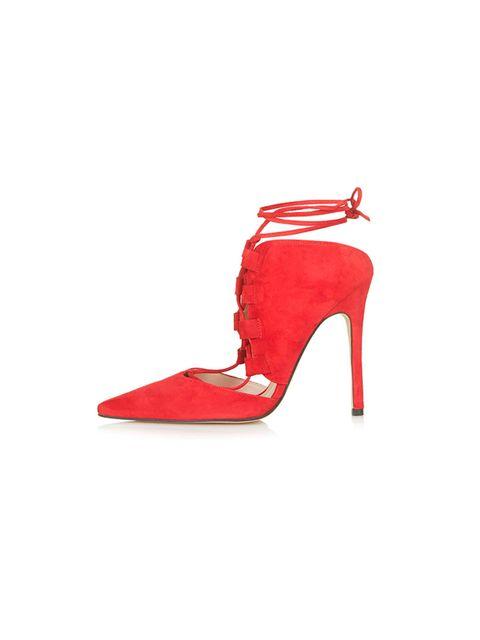 """<p><a href=""""http://www.topshop.com/en/tsuk/product/shoes-430/gillian-ghillie-court-shoes-4488294?bi=1&ps=20"""" target=""""_blank"""">Topshop</a> shoes, £69</p>"""