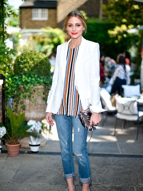 Olivia Palermo in London, May 2015.
