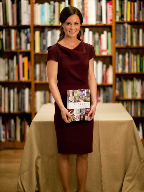 <p>Pippa Middleton in Roksanda Ilincic at her book launch </p>