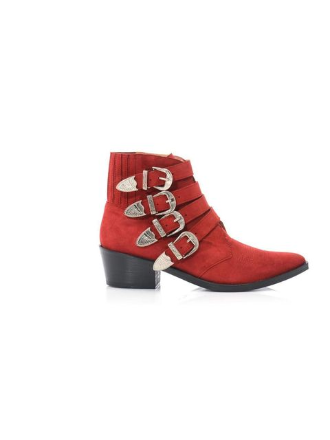 "<p>We fell in love with Toga's classic buckled boots last winter... and now that we've seen them in red suede, we're feeling the need to add to our collection.</p><p>Toga Pulla boots, £330 at <a href=""http://www.matchesfashion.com/product/179296"">MatchesF"