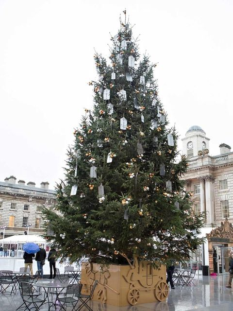 "<p>The <a href=""http://uk.coach.com/online/handbags/Home-14001-14500-uk"">Coach</a> Christmas tree takes pride of place at the top of the ice-rink in the centre of Somerset House. Don't miss out on late night skating - after dark the ice-rink transforms in"