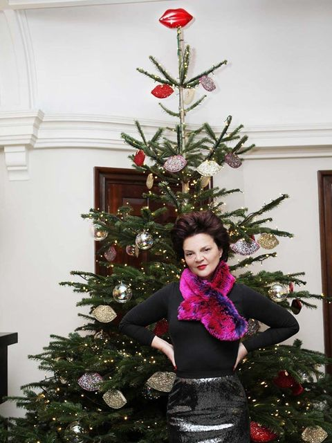 "<p><a href=""http://www.luluguinness.com"">Lulu Guinness</a> has curated a Christmas tree at Browns Hotel, decorated top-to-bottom in with her signature Glitter Lip Coin Purses. </p>"