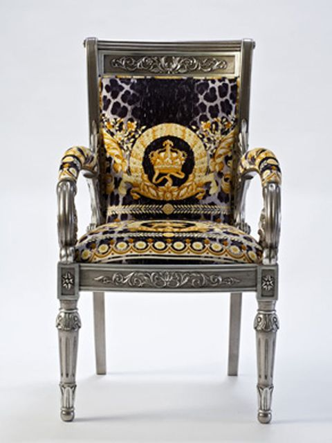<p>Versace Home chair</p>