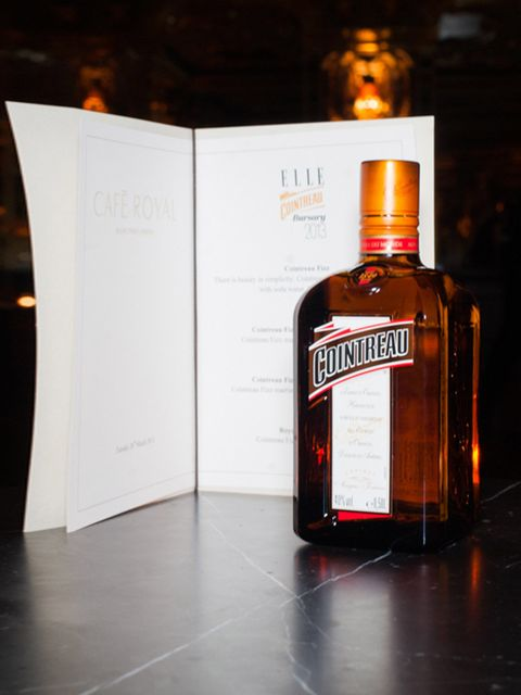 <p>Drinks by Cointreau, sponsor of the bursary</p>