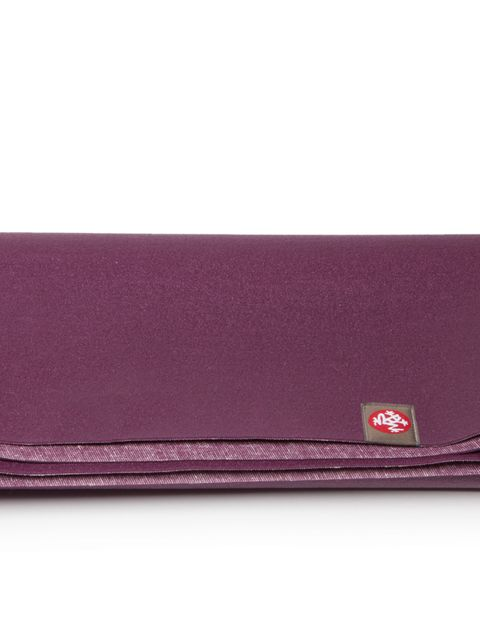 "<p>Or, if you like your yoga on the go, this travel mat from <a href=""http://www.manduka.com/us/shop/categories/products/mats/eko-superlite-travel-mat/"">Manduka,</a> £26, folds up to fit in a suitcase, and weighs just 2lb. ELLE's resident yogi, <a href=""h"