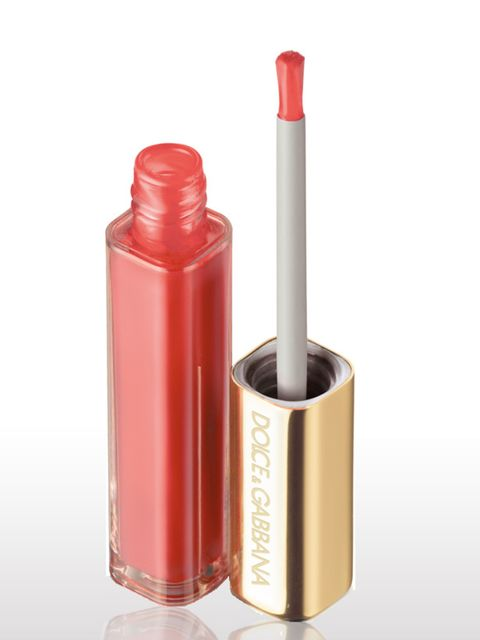 <p> </p><p>'When I'm going for a smoky eye, I love a little of this gloss on my lips. It's just enough'</p><p> </p><p> </p><p>Ultra Shine Lipgloss in 'Candy', £18.00, by Dolce & Gabbana The Make Up at Selfridges 0800 123 400</p>