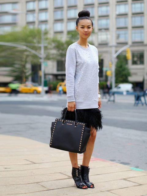 "<p>Kiloko Mima wearing all Michael Kors.</p><p><em><a href=""http://www.elleuk.com/style/street-style/stockholm-fashion-week-street-style-2013"">Stockholm Fashion Week street style</a></em></p><p><em><a href=""http://www.elleuk.com/style/street-style/haute-c"