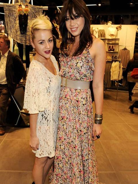 <p>Daisy Lowe and Jaime Winstone </p>