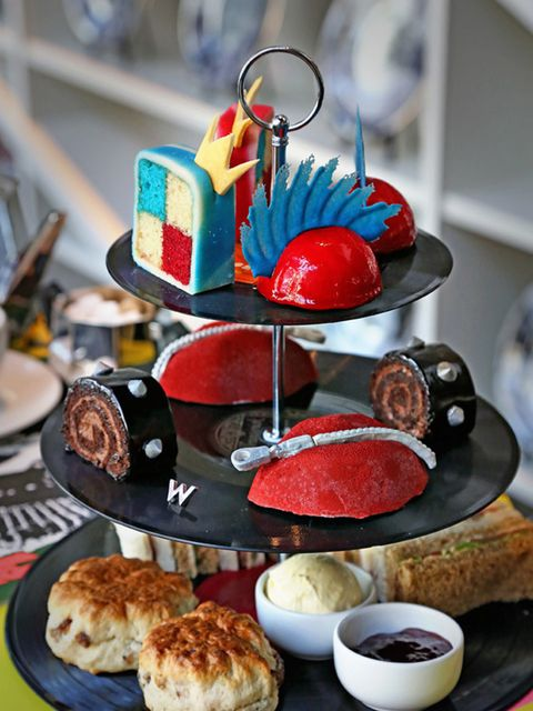 """<p>FOOD: <a href=""""http://www.wlondon.co.uk"""" target=""""_blank"""">Anarch-Tea at W London</a></p>  <p>When Johnny Rotten sang 'God Save the Queen', he was aiming to spark societal revolution. Didn't quite work (happy 90th, Ma'am), but as a pleasing alternative,"""