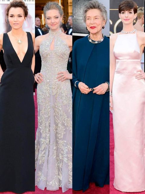 <p>It's the biggest A-list night out of the year – not just for the guest list and awards, but for the clothes. Here, our Fashion Director Anne-Marie Curtis picks out her stars of the night</p>