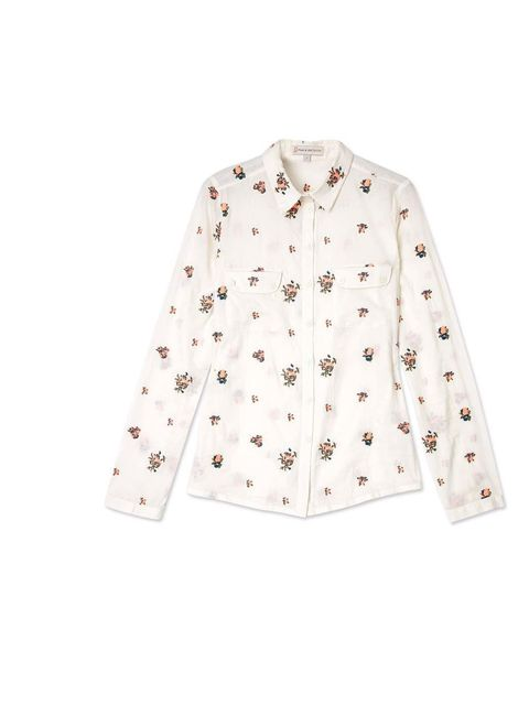 "<p>This ditsy floral print gives a spring-time twist on the classic white shirt, and will look great peeking out from underneath a jumper for work, or dressed down with jeans for the weekend… Paul & Joe Sister blouse, £170 at <a href=""http://www.my-wardro"