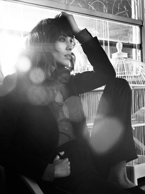 <p>Alexa Chung models for Maje </p>