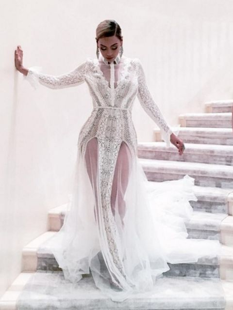 Wearing Inbal Dror for the 2016 Grammys