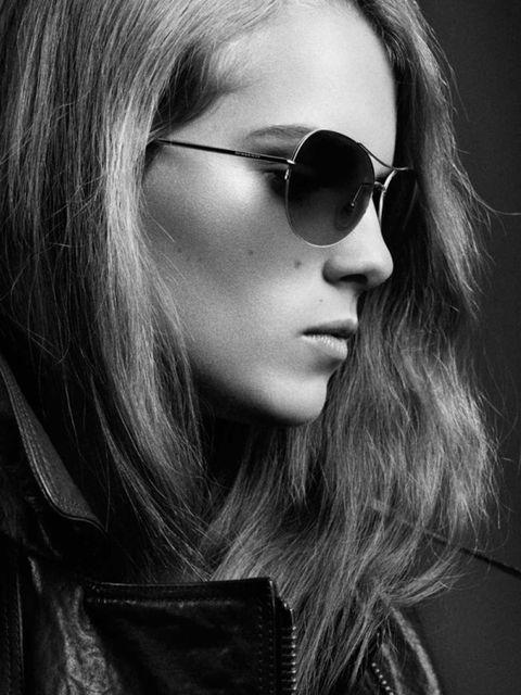 <p>Musician Marika Hackman in the Burberry eyewear campaign</p>