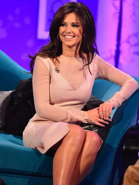 <p>Cheryl Cole in Emilio Pucci on Alan Carr Chatty Man</p>