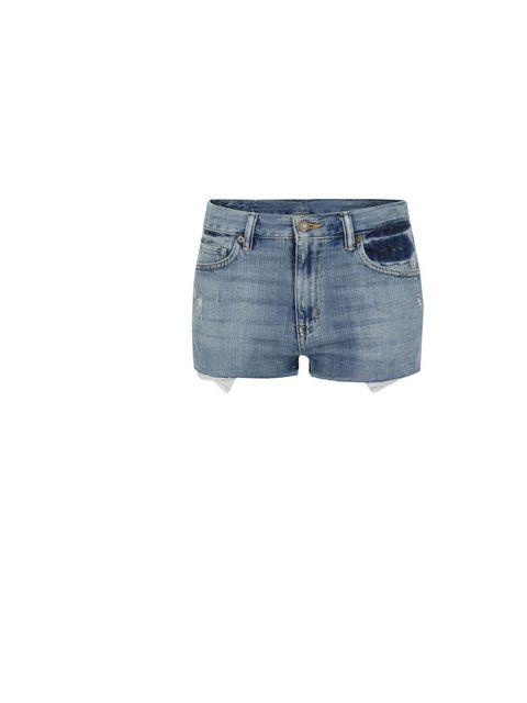 "<p>Denim &amp&#x3B; Supply Ralph Lauren cut-off shorts, £80, at <a href=""http://www.coggles.com/item/Denim-and-Supply-Ralph-Lauren/Vintage-Blue-Cut-Off-Shorts/AAEI"">Coggles.com</a></p>"