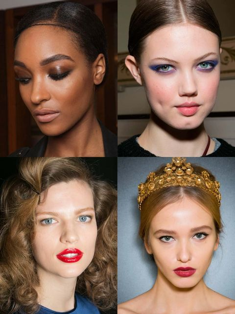 <p>It's only a matter of time before the Christmas party invites start dropping into your inbox. Embrace the frivolity of the festive season and try a new look, step out of your beauty comfort zone.</p><p>The AW13 catwalks provided us with a plethora of p