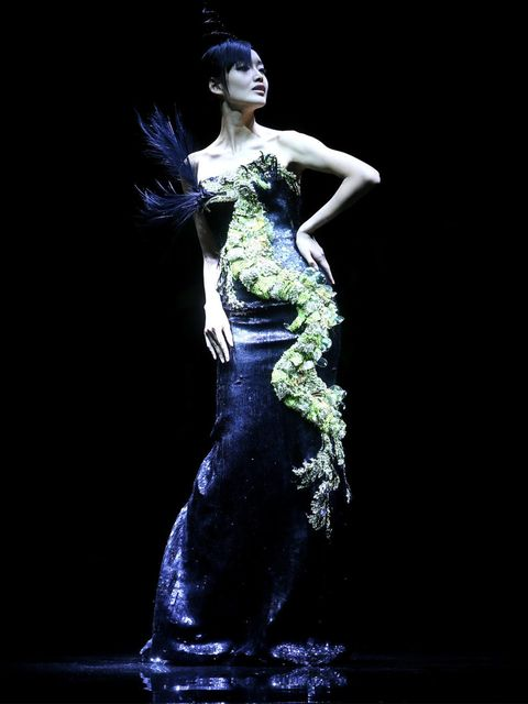<p>The finale look from One Night Only in Beijing with Giorgio Armani</p>