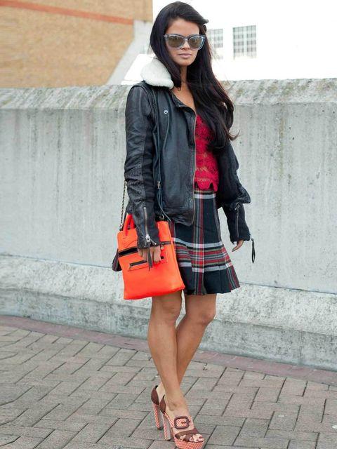 <p>Bip Ling. Muubaa jacket, Mollie Goddard top, Vintage skirt, Rupert Sanderson shoes, D&amp&#x3B;G sunglasses, Jas MB London bag.</p><p>Photos by Kirstin Sinclair, styling by Ava Maria Arias.</p>