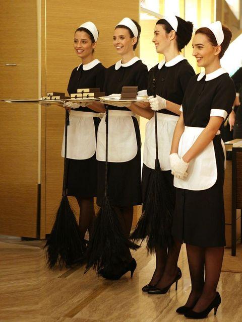 "<p>French Maids</p><p><a href=""http://www.elleuk.com/catwalk/designer-a-z/louis-vuitton/spring-summer-2014""></a></p><p><em><a href=""http://www.elleuk.com/fashion/what-to-wear/elle-wears-louis-vuitton"">ELLE wears Louis Vuitton</a></em></p><p><em><a href=""h"