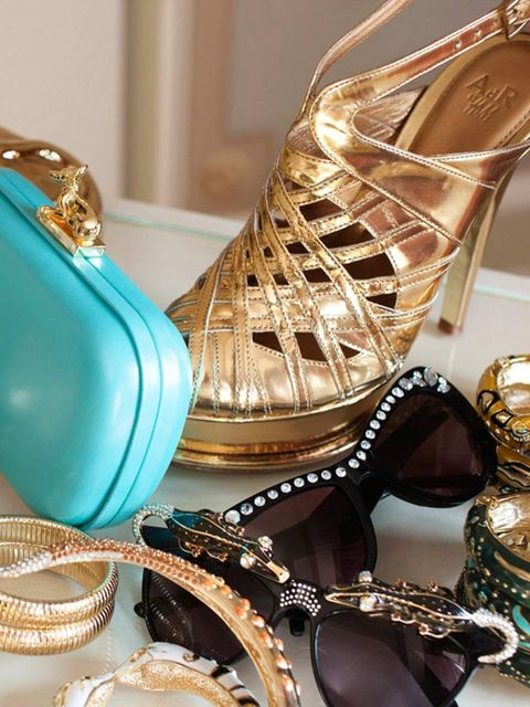 <p>Selections from Anna Dello Russo's accessories collection for H&M</p>