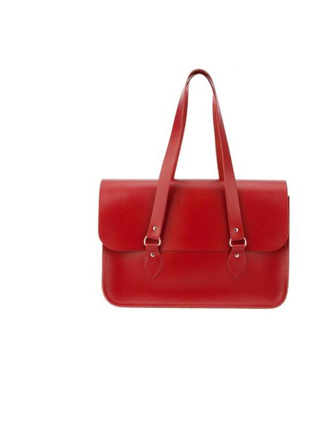 "<p>Scarlet red leather Comme Des Garcons satchel, £244.58 at<a href=""http://www.farfetch.com/shopping/women/251057-designer-comme-des-garcons-comme-des-garcons-large-satchel-item-10239461.aspx""> Farfetch.com</a></p>"