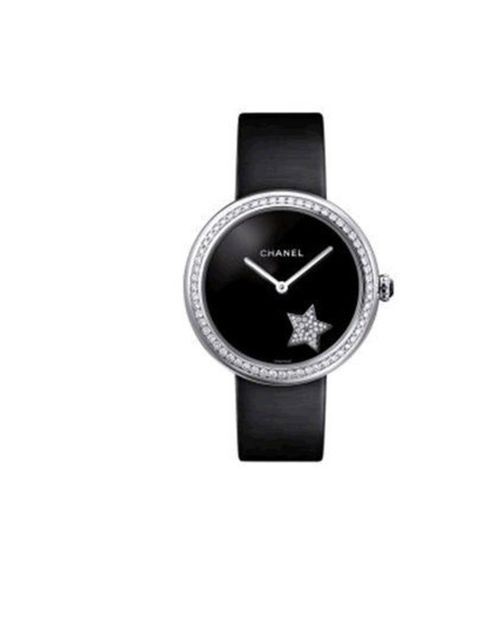 """<p>On the first day of Christmas my true love gave to me, a <a href=""""http://www.chanel.com/en_GB/Watches/mademoiselle_prive"""">Chanel Mademoiselle Privé</a>. Cased in 18K white gold and twinkling with a total of 171 brilliant cut diamonds, wrists sparkle li"""