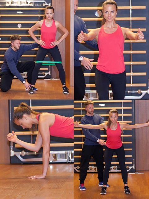 <p>That first outing in a bikini can be a painful process so we've made you your very own special bootcamp to get you looking toned and gorgeous on the beach in no time. We called in the experts: Lee Mullins and Nathalie Bomgren, personal trainers from Bo