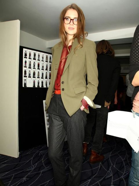 "<p><strong>The Androgynous Suit</strong><strong> </strong></p><p><strong>The look:</strong> This Girl/Boy trend is big news thanks to shows like <a href=""http://www.elleuk.com/catwalk/collections/chanel/autumn-winter-2011"">Chanel</a>, <a href=""http://www."