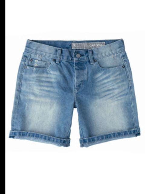 <p>Denim shorts, £35, by Gap (0800 427 789)</p>