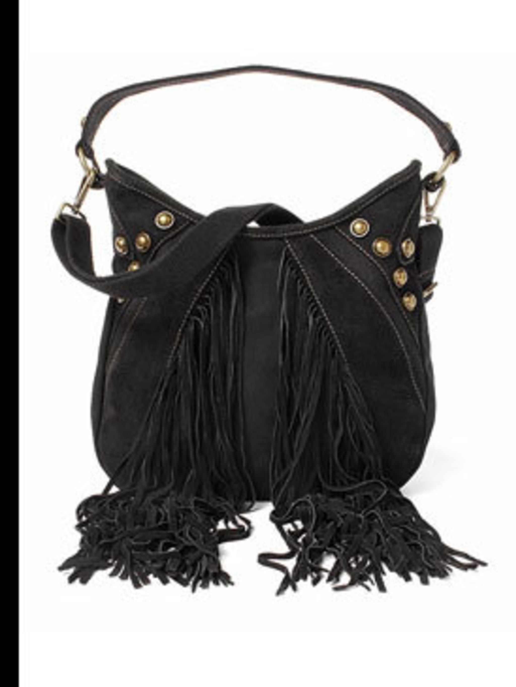 "<p>Western style shoulder bag, £29.99, by <a href=""http://www.esprit.co.uk/"">Esprit</a></p>"