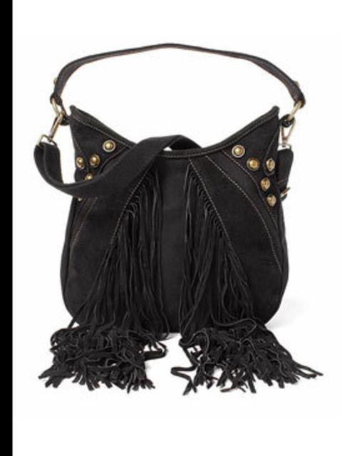 "<p>Western style shoulder bag, £29.99, by <a href=""http://www.esprit.co.uk/"">Esprit</a></p>"