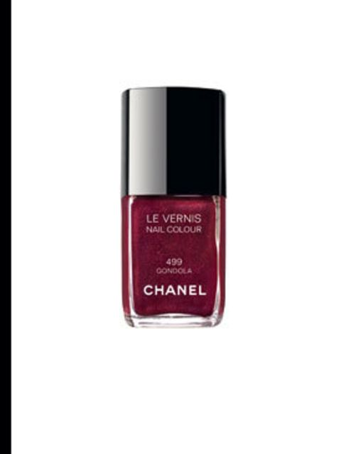 <p>Chanel Le Vernis nail polish in Gondola, £16, by Chanel (020 7493 3836)</p>