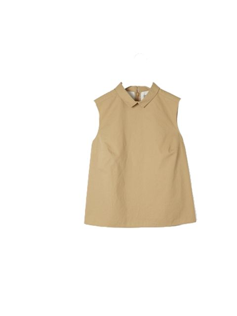 "<p><a href=""http://www.cosstores.com/Shop/Women/New/Sleeveless_cotton_top/365246-4435109.1"">Cos</a> sleeveless cotton top,. £55</p>"