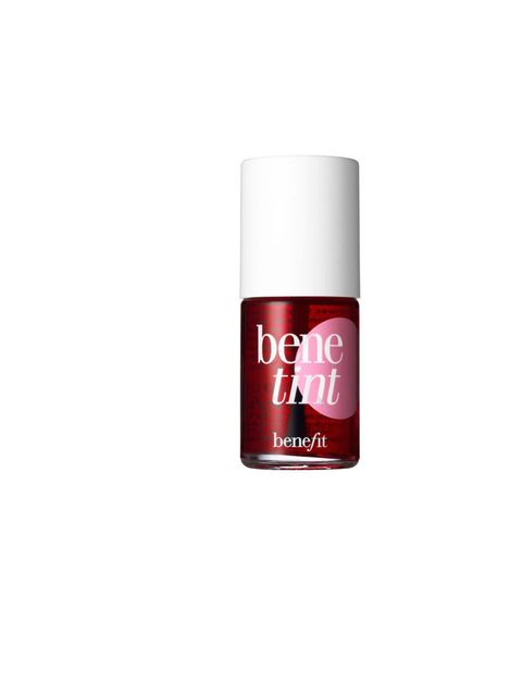 "<p><strong>Georgia Simmonds</strong></p><p><strong> </strong><a href=""http://www.benefitcosmetics.co.uk/product/view/benetint"">Benefit Benetint, £24.50</a></p><p>'On application Benetint looked great – blended really well and gave a rosy stain to my lips"