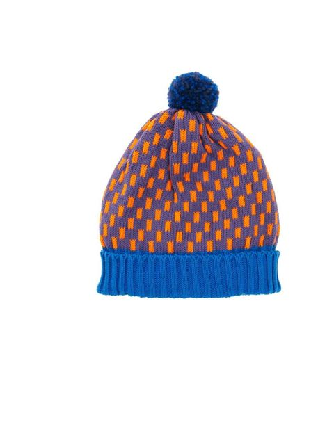 "<p>ALL Knitwear bobble hat, £45, available at <a href=""http://www.asos.com/All-Knitwear/All-Knitwear-Royal-Dash-Bobble-Hat/Prod/pgeproduct.aspx?iid=2497260&cid=6449&sh=0&pge=0&pgesize=-1&sort=-1&clr=Blue+multi"">ASOS</a></p>"