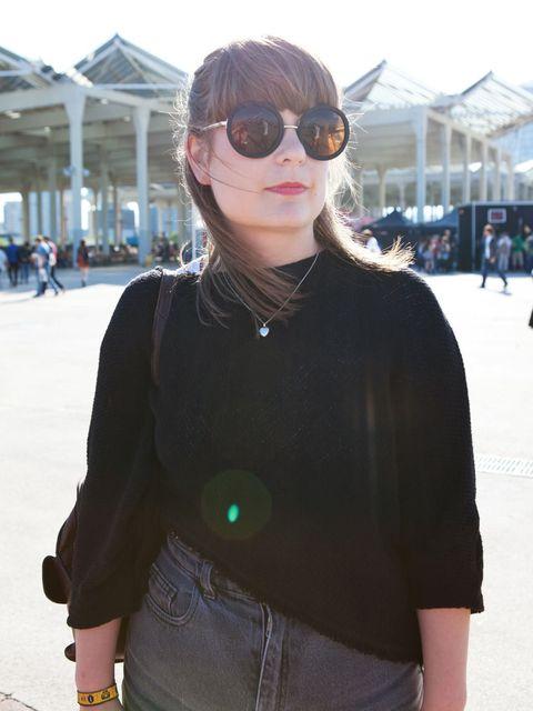 <p>Lauren Evett wears Topshop top. American Apparel shorts, Grandma's necklace. Twitter: @laurenevett</p>