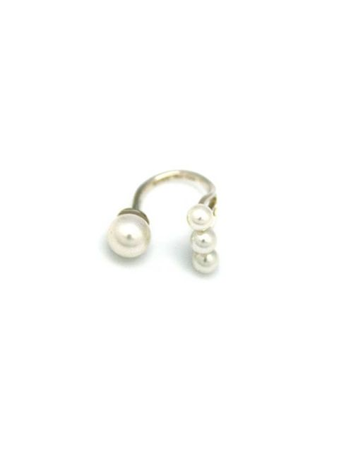"<p>Brilliant with a cocktail dress, even more so with a t-shirt and jeans.</p><p><a href=""http://www.avecnewyork.com/product/open-trio-pearl-ring"">Avec New York</a> ring, £154</p>"