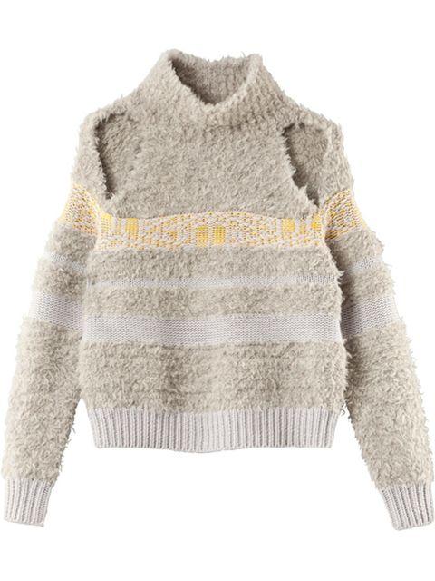 "<p><a href=""http://www.houseofdagmar.se/shop/charis/"" target=""_blank"">Dagmar </a>sweater, £359</p>"