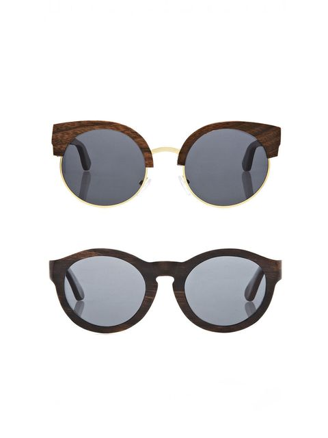 "<p><a href=""http://www.finlayandco.com/"">Finlay & Co</a></p><p>Carven from wood, these are timeless frames for the discerning style maven. Choose from five different style in walnut, ebony, zebrano or rosewood.</p>"