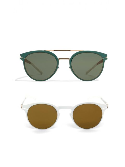 "<p><a href=""https://mykita.com/en/sun"">Mykita</a></p><p>The sixties shapes of these make them the perfect choice for anyone looking for a bit of retro charm. They tick the mirrored-lense trend box too.</p>"