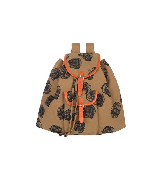 "<p>Make a note of this name. Kate Sheridan is the independent East London designer we've been admiring for some time and now she's been snapped up by high street hero New Look... Kate Sheridan printed backpack, £49.99, at <a href=""http://www.newlook.com/s"