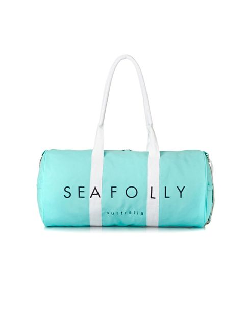 """<p>Seafolly gymbag, £39, from <a href=""""https://www.surfdome.com/seafolly_bags_-_seafolly_trainer_gym_bag_-_mint-215186"""" target=""""_blank"""">Surfdome.com</a></p>"""