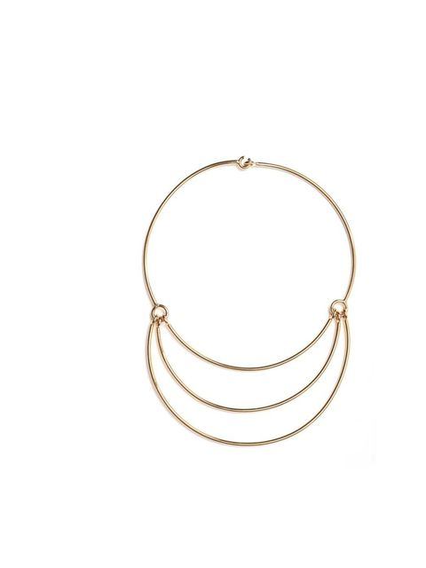<p>Layer this statement necklace over a printed shirt for day and a little black dress for night.</p><p>Club Monaco necklace, £260</p>