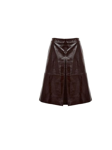 """<p><a href=""""http://www.asos.com/ASOS/ASOS-A-Line-Midi-Skirt-in-Patent-Leather/Prod/pgeproduct.aspx?iid=2908663&SearchQuery=patent%20skirt&sh=0&pge=0&pgesize=36&sort=-1&clr=Burgundy"""">Asos skirt</a>, was £120, now £72</p><p>Don't mis"""