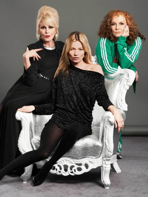<p>Patsy, Kate and Edina.</p>