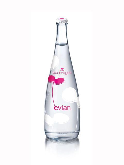 <p>Couregges bottle design for Evian</p>