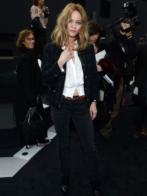 "<p><a href=""http://www.elleuk.com/star-style/celebrity-style-files/vanessa-paradis"">Vanessa Paradis</a> attends the <a href=""http://www.elleuk.com/catwalk/designer-a-z/chanel/autumn-winter-2013/collection"">Chanel Autumn Winter 13</a> show, Paris Fashion W"